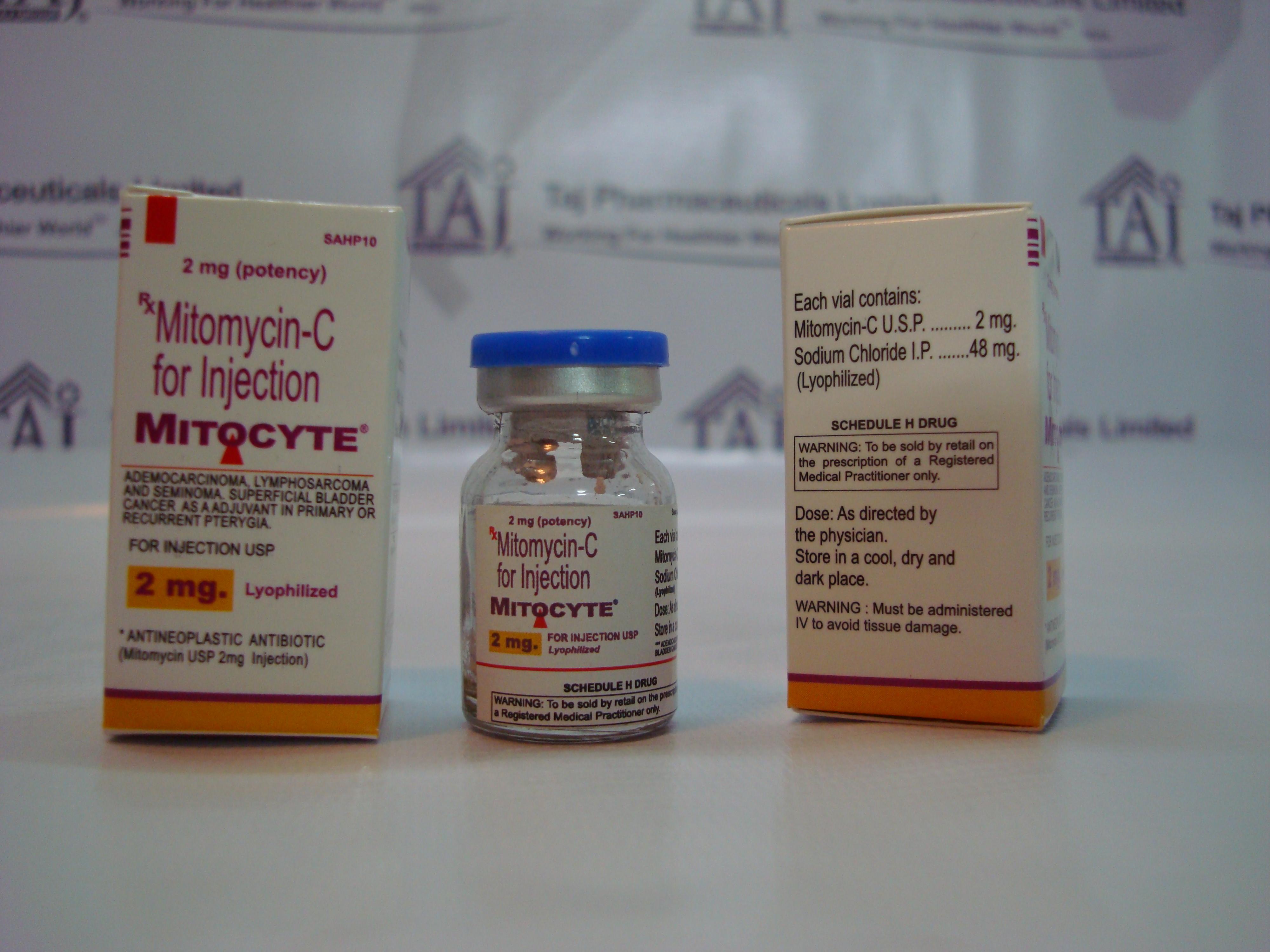 Mitocyte 174 Mitomycin For Injection Usp Mitomycin C Kyowa