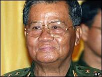 Burmese leader Than Shwe