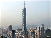 580-metre Taipei 101