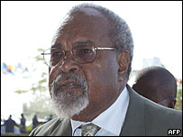 PNG prime minister