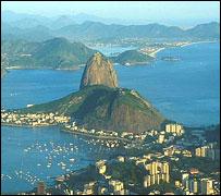 Rio de Janeiro, view of Sugar Loaf Mountain
