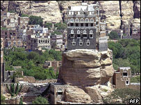 Rock Palace, Sanaa, restored in 2005