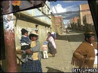 Street scene, El Alto, Bolivia