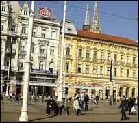 Main town square, Zagreb