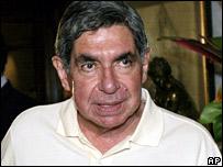 President Oscar Arias