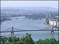 Dunube river, Budapest