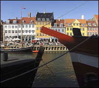 Copenhagen - waterfront view