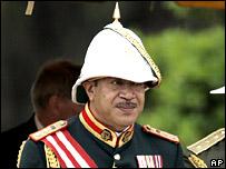 Tonga's King George Tupou V