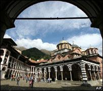 Rila monastery, south-west Bulgaria