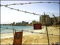 Divided town of Famagusta, Cyprus