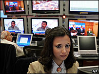 Producer at al-Jazeera's Doha studios