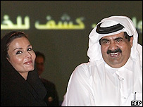 Qatari Emir Sheikh Hamad bin Khalifa al-Thani
