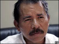 Daniel Ortega, president-elect