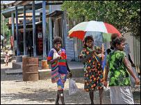 Women, Solomon Islands