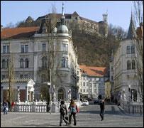 Ljubljana, Slovene capital