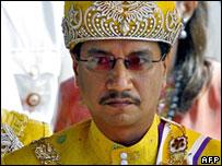 Malaysian king, Sultan Mizan Zainal Abidin