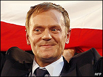 Polish premier Donald Tusk
