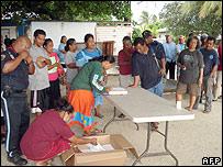 Marshall Islands vote