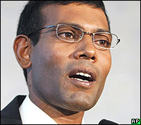 President Mohamed Nasheed