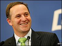NZ premier John Key