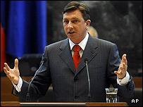 Slovene PM Borut Pahor