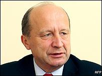 Lithuanian premier Andrius Kubilius