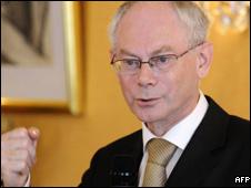 Belgian Prime Minister Herman Van Rompuy