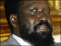 First vice president Salva Kiir