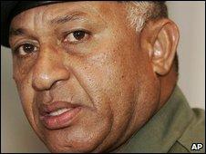 Fiji military leader Bainimarama