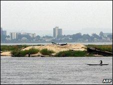 Brazzaville skyline