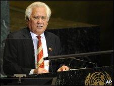 Tongan Prime Minister Feleti Sevele
