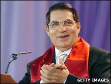 Tunisian President Ben Ali