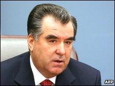 Tajik President Rahmonov