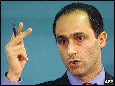 Gamal Mubarak, son of Hosni Mubarak