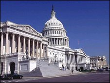 Capitol, Washington DC: Seat of Congress, the law-making branch of   government