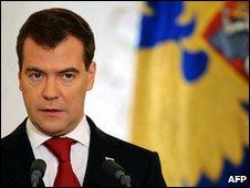 President Dmitry Medvedev