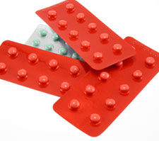 Tetrazepam red tablets