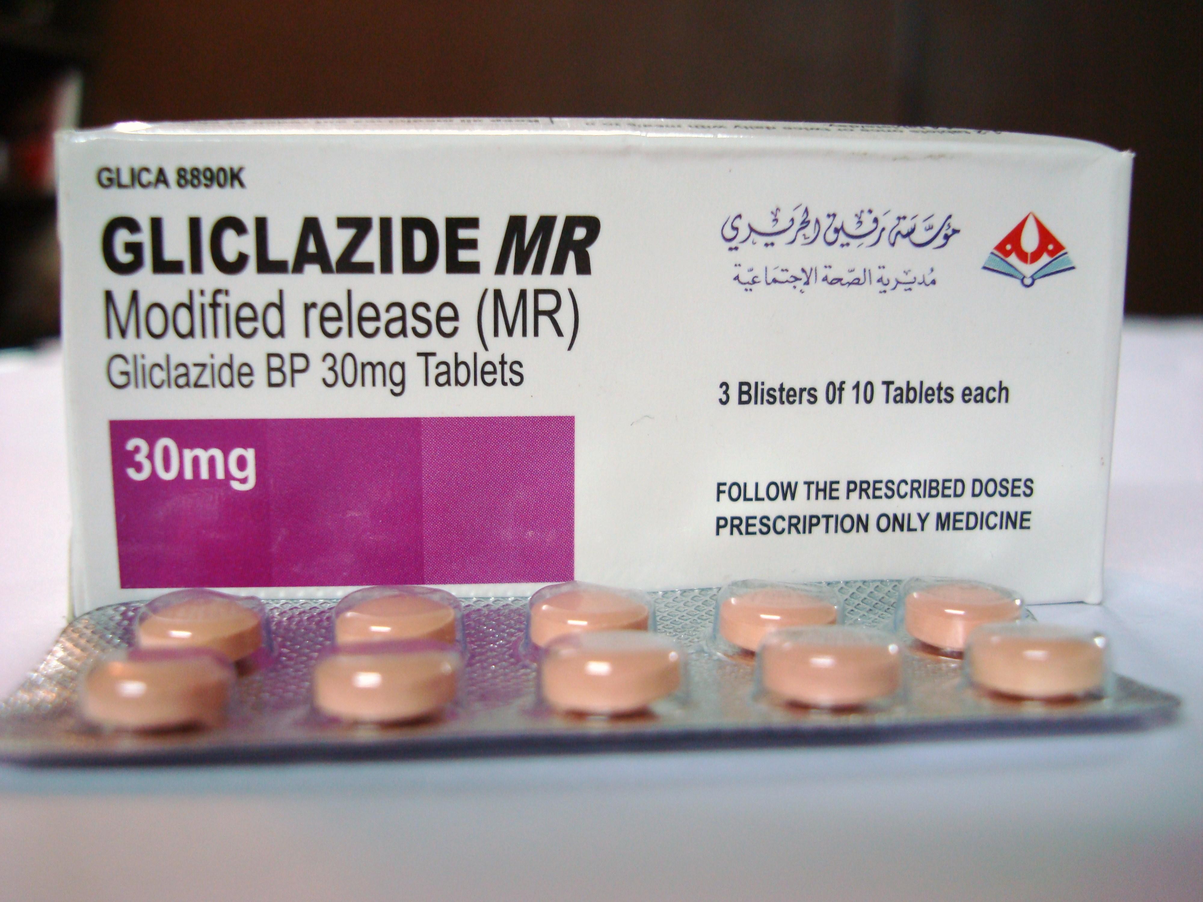 Gliclazide MR 30 MG