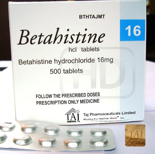 Betahistine - Wikipedia