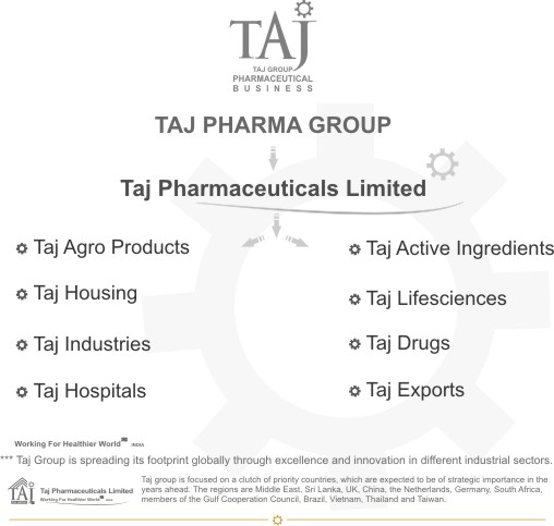 Taj Group of Companies - Taj Pharma Group India