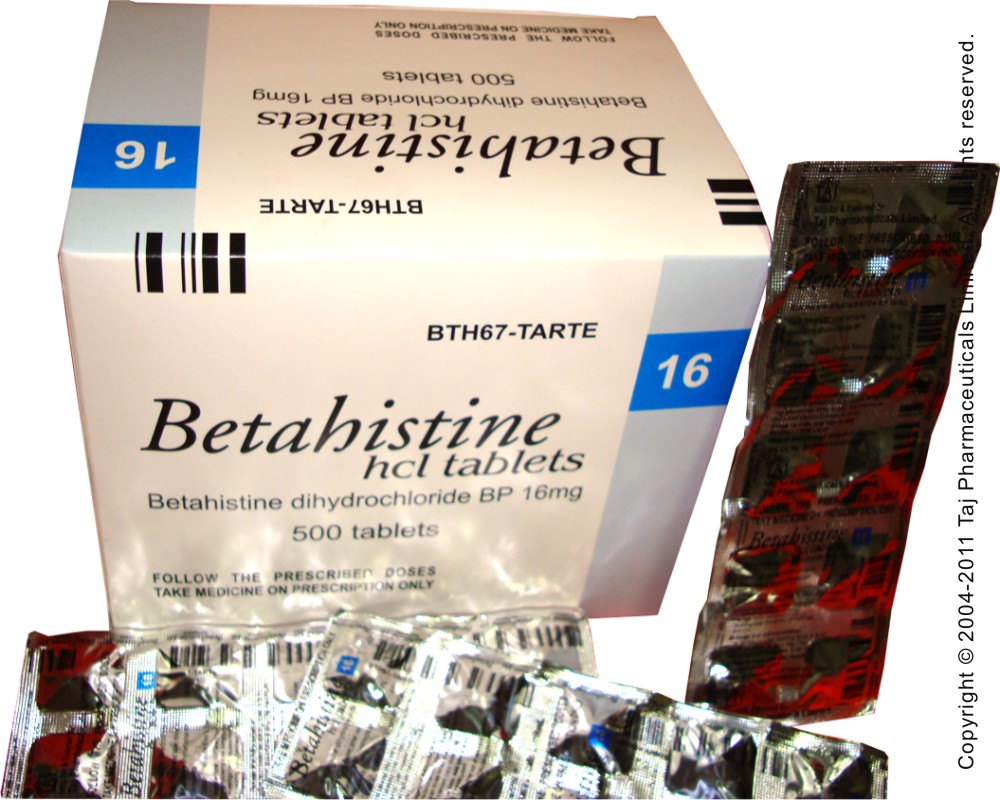 Betahistine in the treatment of Ménière's disease